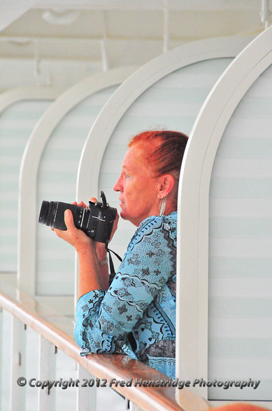 Photographing the harbor