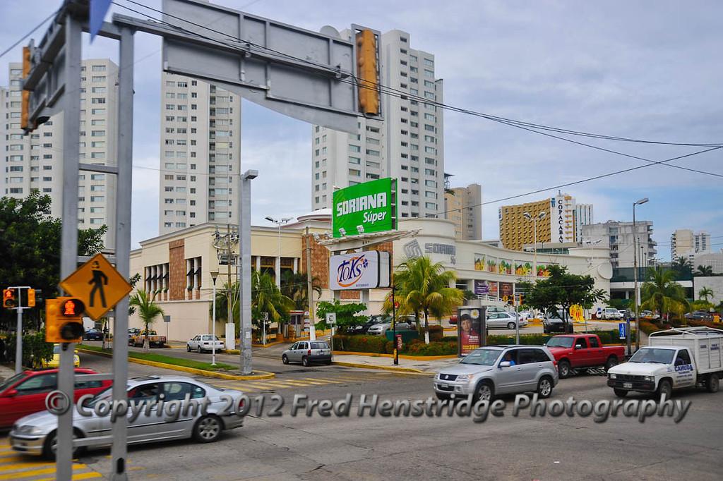 Acapulco street scene