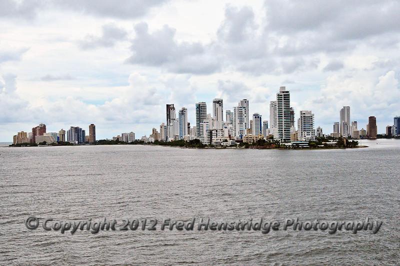 Cartagena from the harbor