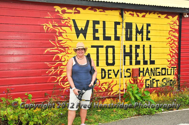 Gwen in Hell