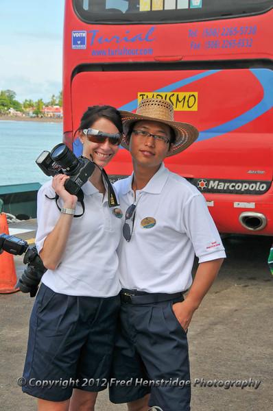 Ship's photographers