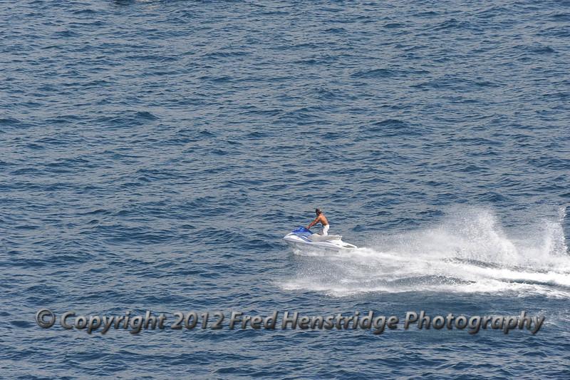 Jet sking off Cabo San Lucas