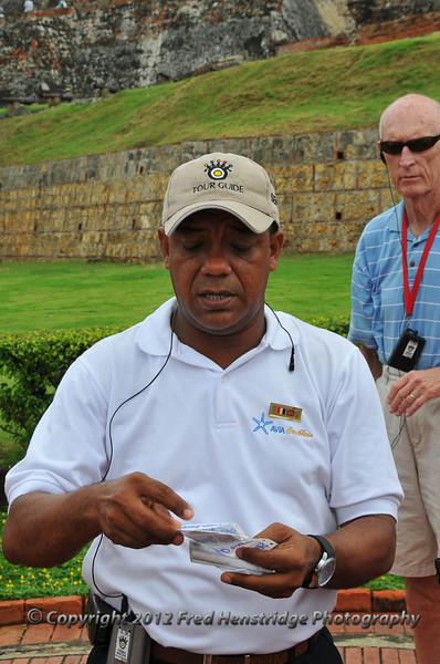 Sergio Camacho, our tour guide