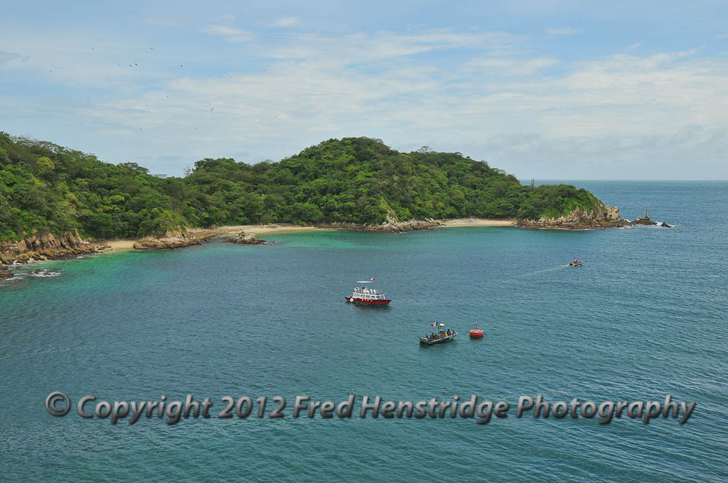 Huatulco harbor