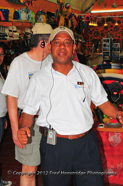 Sergio, our tour guide