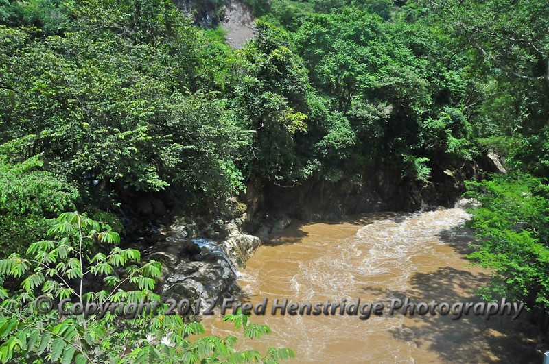 Heavy rains have caused flooded rivers