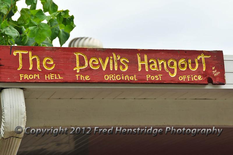 The devil's Hangout
