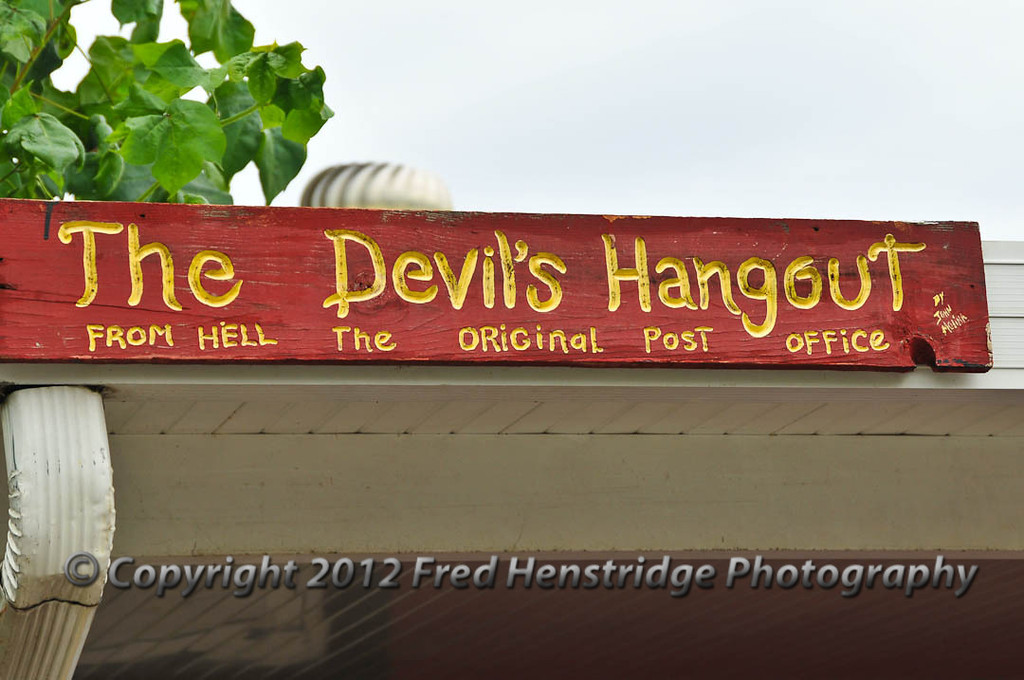 The devil's Hangout