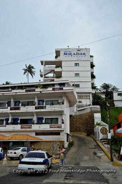Mirador Hotel, home to the cliff divers