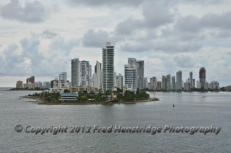 Cartagena harbor