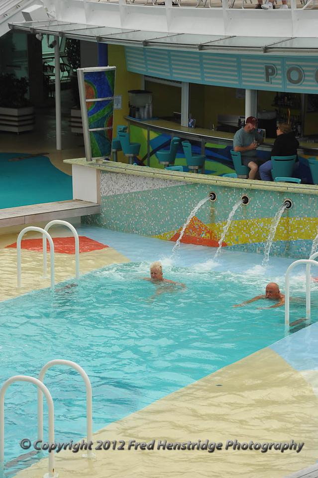 A cool swim