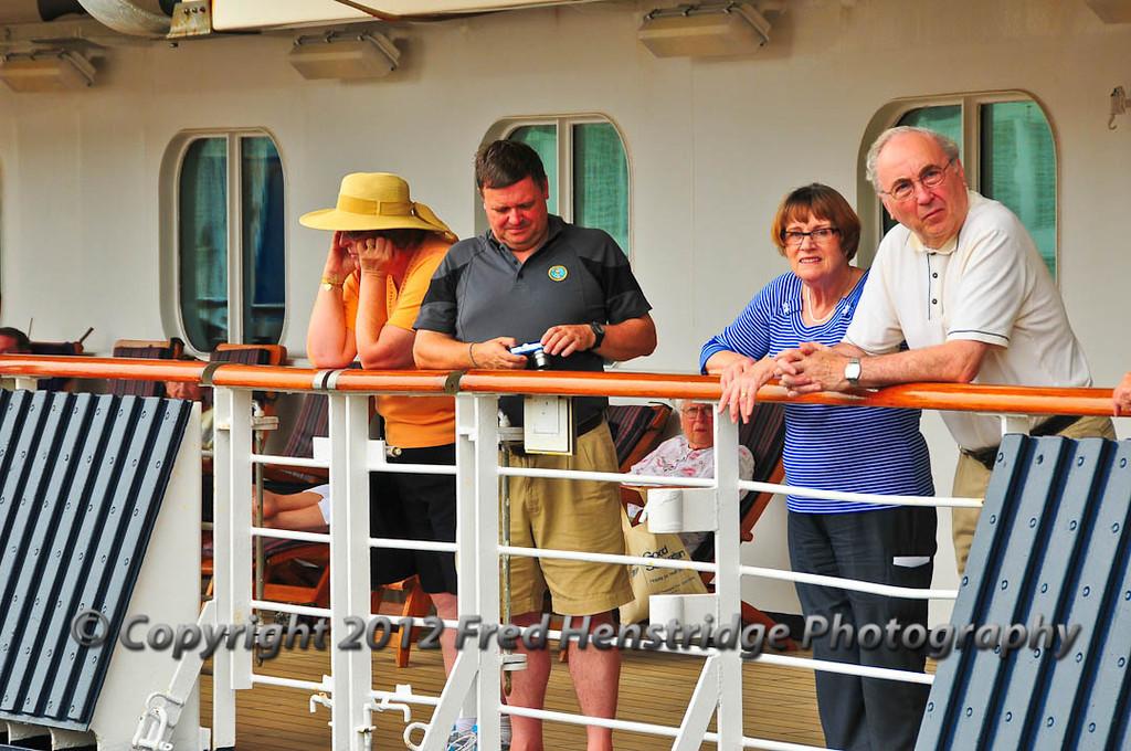 Passengers on the Ryndam