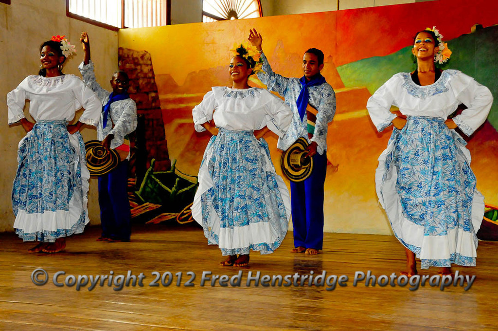 Folkloric show at the Naval Museum, Cartagena