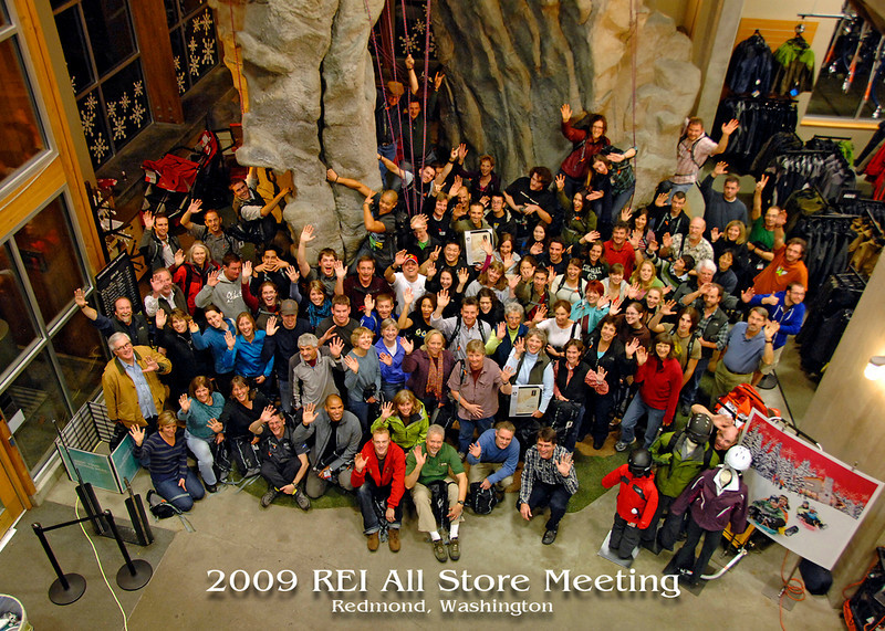 2009 REI All Store Meeting photo 5x7