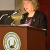 J.S.CARRAS/THE RECORD Rensselaer County Executive Kathy Jimino delivers State of County address Tuesday, March 11, 2014 at Rensselaer County Legislative Chamber in Troy, N.Y..