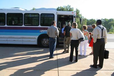 RFTA crowded bus shots