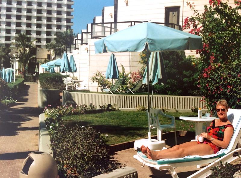 4 Nov 1995 - Weekje Eilat: Appartementen - hotel Riviera