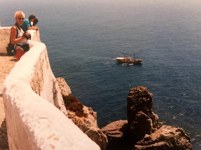 Cabo de Sao Vicnete, westelijkste punt van Europese vaste land