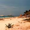 Strand van Playa del Carmen