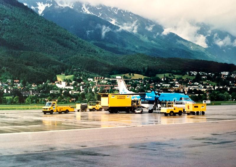 4 Juni 1999: Weekendje Tirol - met KLM Alps naar Innsbruck