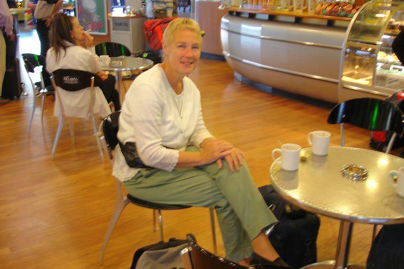 Vertrek Schiphol op 17 sept 2004 voor 4 dagen Rome.