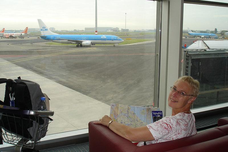 Zaterdag 18 juni 2005 met de KL1653 voor een lang weekend naar Venetië.
