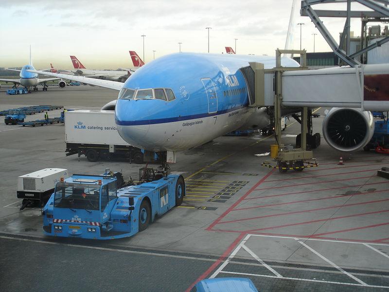 Zaterdag 19 november 2005 met de KL871 naar New Delhi.