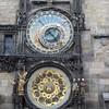 De astronomische klok in de klokketoren.