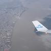 Via Bonaire en Guayaquil (deze foto) naar Quito.