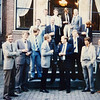 September 1984.<br /> GEM team bij Huis van Loon in Amsterdam.