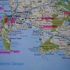 We hadden een cottage geboekt bij Easy Five in Somerset West. De kaart geeft een overzicht van waar we zo al geweest zijn.