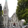 In het centrum van Christchurch.