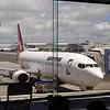 Het laatste stukje met Quantas van Auckland naar Christchurch.