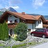 Zaterdags aankomst bij Landhau Sandra in Dorfgastein. <br /> We hadden de kamers bij het balkon met uitzicht op de Hohe Tauern.