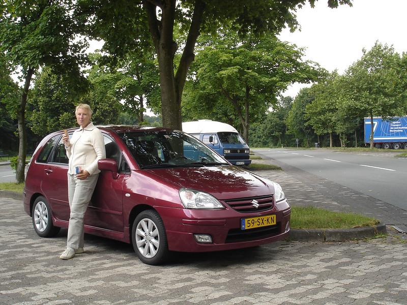 Vrijdag 13 juni 2008. Vertrek met de auto vanuit Nijverdal naar Dorfgastein in Oostenrijk.<br /> We hadden een overnachting geboekt in Erlangen bij Nürnberg waar we 's avonds nog Nederland van Italië zagen winnen bij het EK.