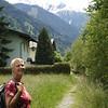 Zondag 15 juni een eerste wandeling in de omgeving van het dorp.