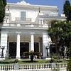 Donderdag 18 september. Naar het Achilion paleis in Gastouri. Beter bekend als het paleis van Sissi.