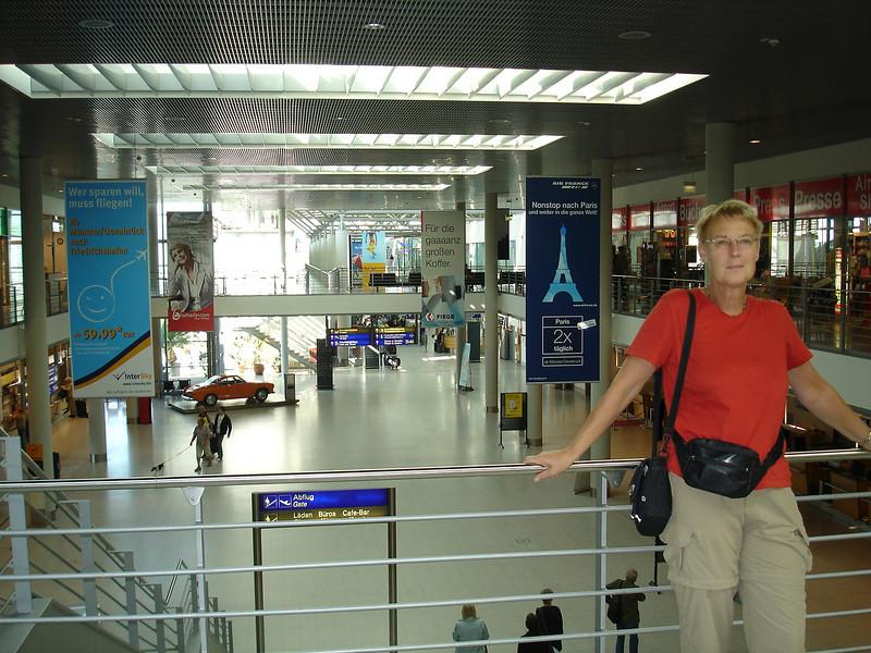 Dinsdag 9 september 2009  met Air Berlin naar Corfu. Ons eerste vertrek vanaf Münster / Osnabrück.
