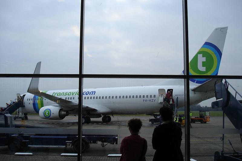 Woensdag 21 januari 2009. Een primeur: Vertrek vanaf Eelde / Groningen via Weeze naar Las Palmas.