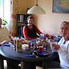 Onze woningruilers Roslyn en Russel Searles uit Buderim. <br /> Zij kwamen maandagmiddag 27 april aan in Nijverdal.