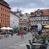De Marktplatz in Quedlinburg.