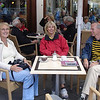 Donderdag 9 Juli. Lunchafspraak in Wernigerode met Joost en Nolly die hier op vakantie waren!