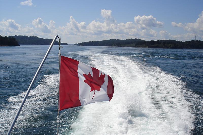 CANADA  - Aug / Sep 2009  :  Woningruil met Mactaquac in New Brunswick.