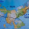 Onze reisroute in Panama