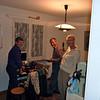 Zondagavond 9 mei. Aankomst in Münsingen bij onze ruilpartners Paul en Romy.