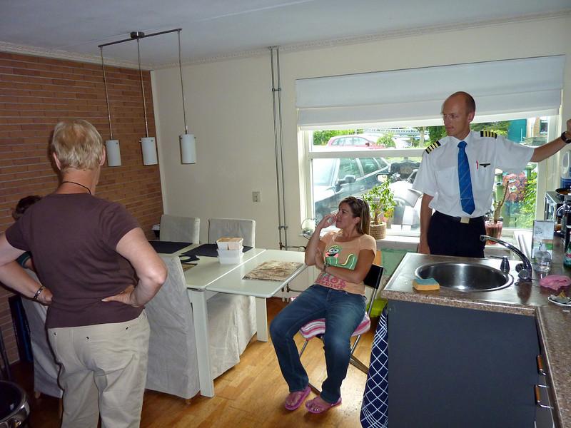 16 Juli 2010 - In Almere bij Angelique en Emile