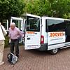 16/8: Taxi naar Schiphol.