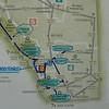 Overzicht van plaatsen waar we geweest zijn vanuit Okotoks.