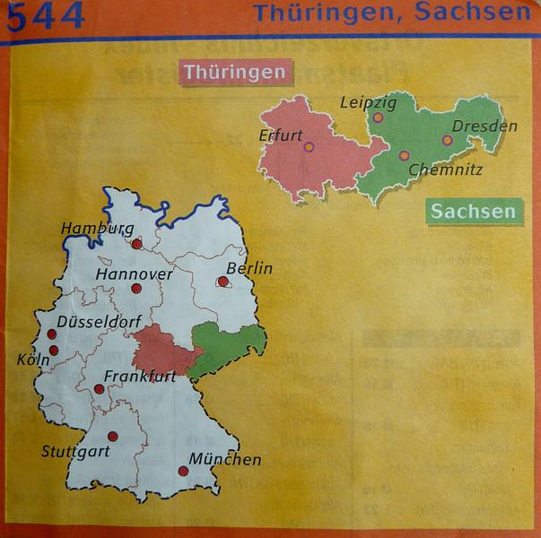 1 Juni 2013: Naar Saksen in Duitsland.