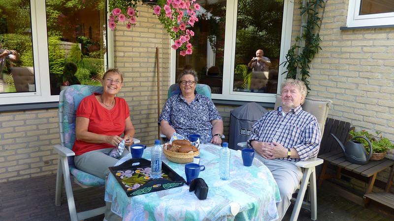 31 aug 2013: Woningruil Klundert.